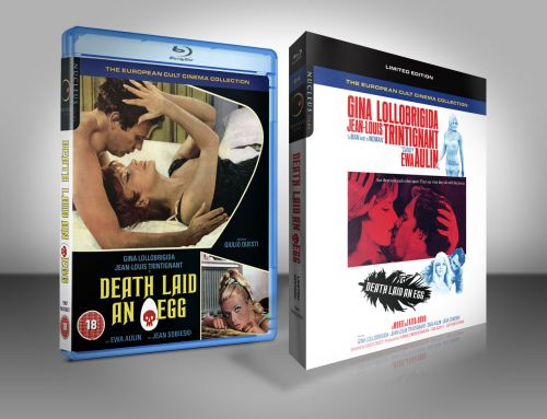 Death Laid an Egg Limited Edition Blu-ray
