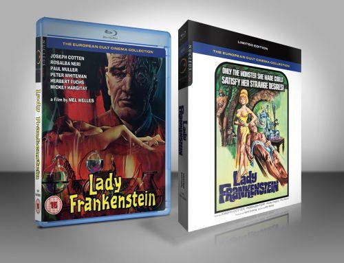 Lady Frankenstein Limited Edition Blu-ray