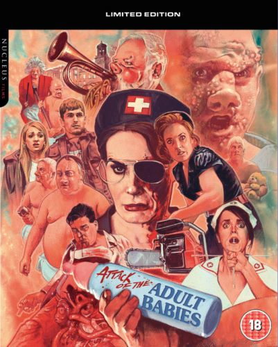 Attack of the Adult Babies (Limited Edition) (Blu-ray)